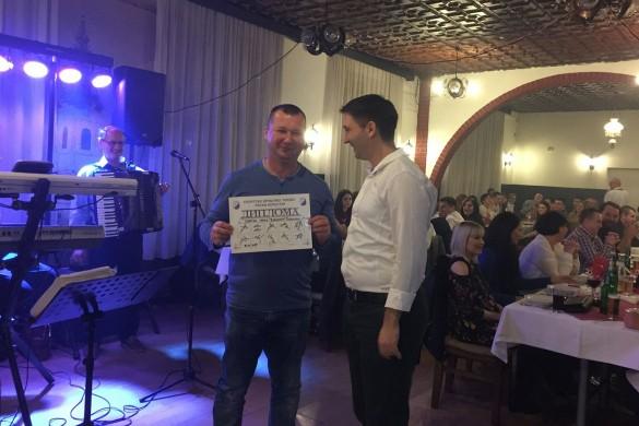 На Русиновим балу Александар Чизмар преглашени за найлєпшого бавяча