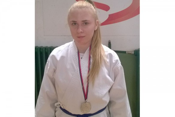 Sara Plancak striberna medalja