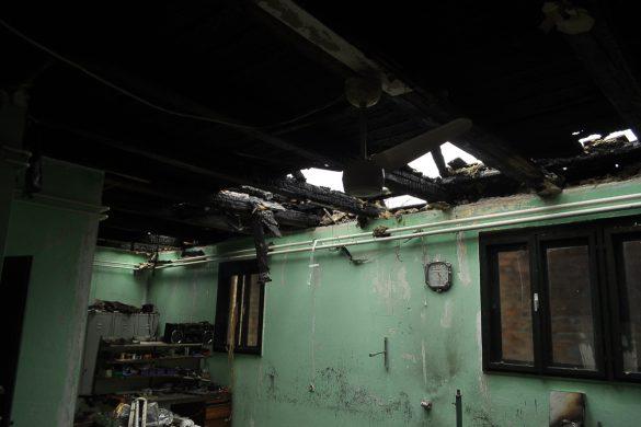 НАЙНОВША ВИСТКА: Згорело обисце и роботня Юлия Еделинския