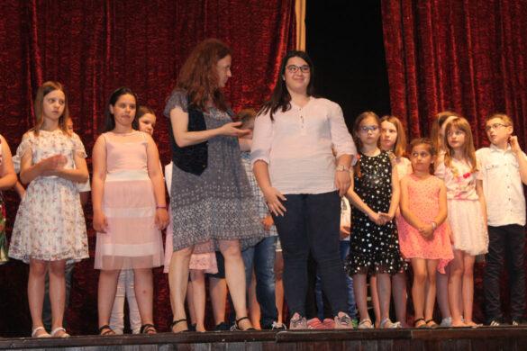 Отримaни концерт Музичней школи з нагоди законченя школского року