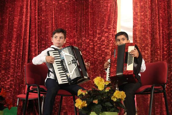 Вечар бул Концерт Музичней школи